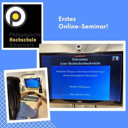 Erstes ganztägiges Online-Seminar mit 25. Pädagog*innen an der pädagogischen Hochschule Graz geschafft! Danke für die vielen positiven Rückmeldungen