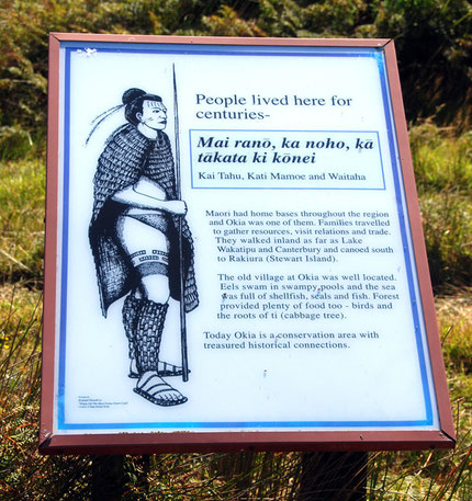 These signs are useful reminders of the 'Maori presence' in New Zealand but they obscure as much as they reveal. For example, what happened to the village and the people that lived in it?