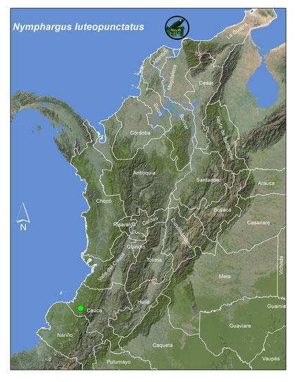 Registros publicados para Colombia en rojo PNN Las Orquideas