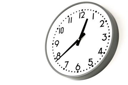 時間配分が重要な試験。今の時刻を確認するための腕時計は大切です。