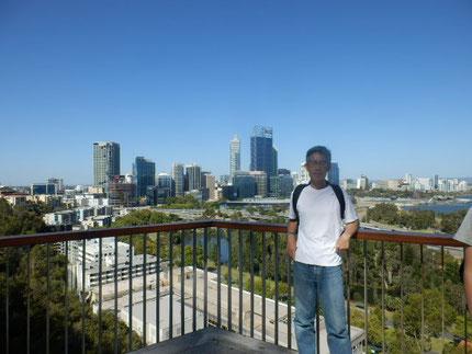 西オーストラリア パースのキングスパークにて