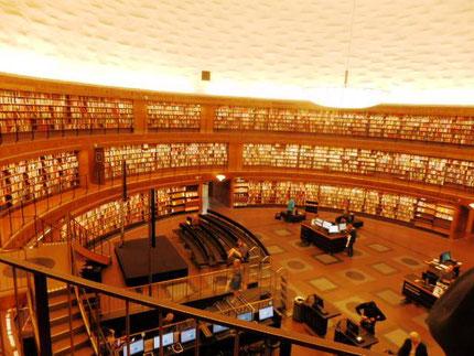 アスプルンドさん設計のストックホルム図書館