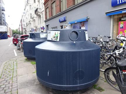 アップタウンのでかいゴミ箱