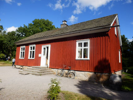 スウェーデンらしい平屋