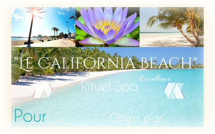 massage bien etre biarritz, rituel spa california beach