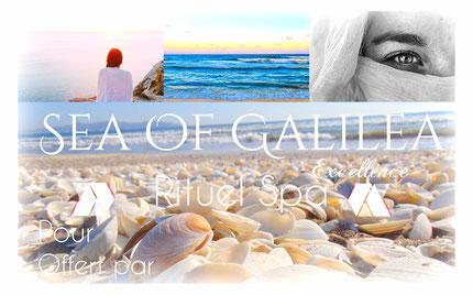 "massage bien etre à biarritz, ici le rituel spa ""sea of galilea"""