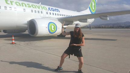 Claire en shuto avant de prendre l'avion pour L'Andalousie !
