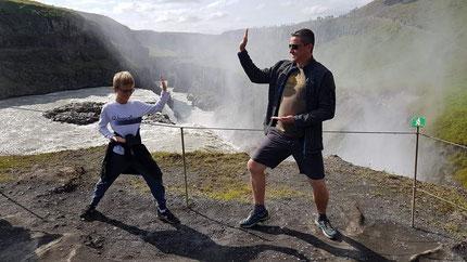 Martin et David en Islande
