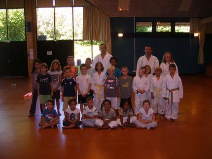 Premier cours enfants, mardi 13 septembre 2011