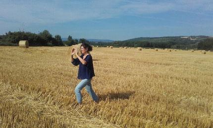 Geneviève , tai chi chuan ..repousser...en Alsace !!!!!