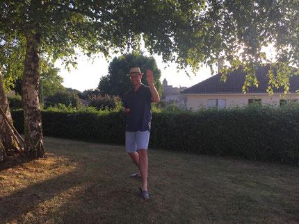 Gael à Lusignan dans le Poitou !