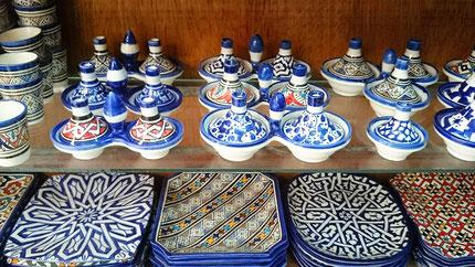 実用的な小皿もおすすめ/モロッコお土産/青い街シャウエン在住Mikaのブログ