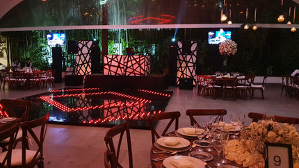 dj para bodas Equipo GRAND, montaje realizado de 2017 en Quinta Los Pinos, Tepoztlan Morelos.
