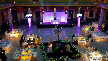 dj para bodas PREMIERE, montaje en Casa del Corregidor, Ciudad de México.