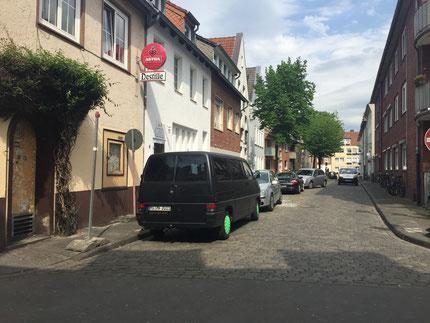 Kuhstraße heute