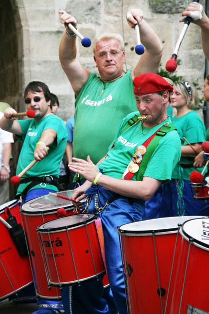 """Sambagruppe """"Sarará"""" aus Regensburg"""