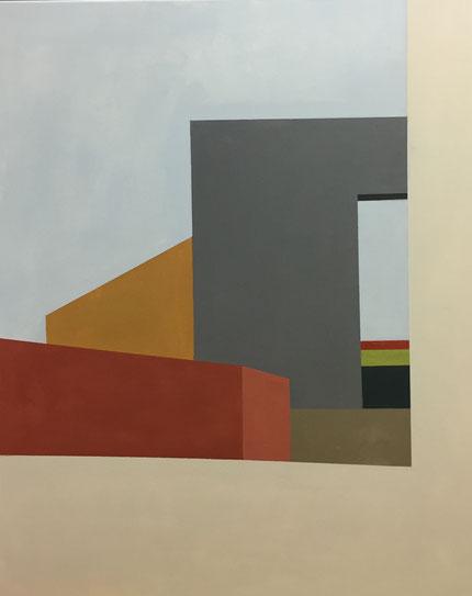 Farbräume 17, Acryl, 2019, 100 x 80 cm