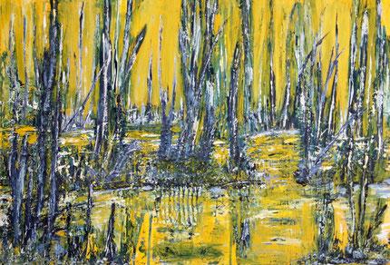 """Swamp"", Acryl auf Leinwand, 80x60 cm"