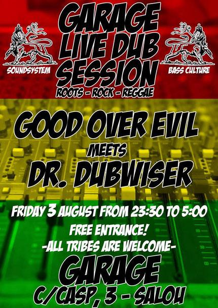 live dub session
