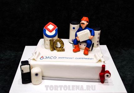Торт Корпоративный ЭЛСО - Энергосбыт Екатеринбург