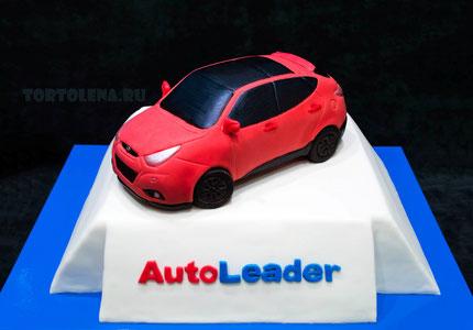 Торт для компании Автолидер. Вес 13.2 кг.