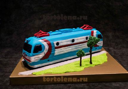 Торт Локомотив