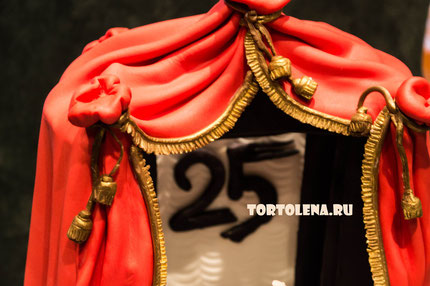 """Торт Балет  На юбилей 25 лет Театру балета «Щелкунчик» Екатеринбург.  Занял первое место в """"Кулинарном поединке"""""""