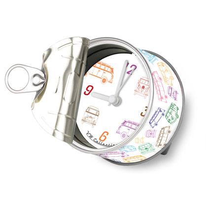 VW Uhr, Dosenuhr, Volkswagen Bulli