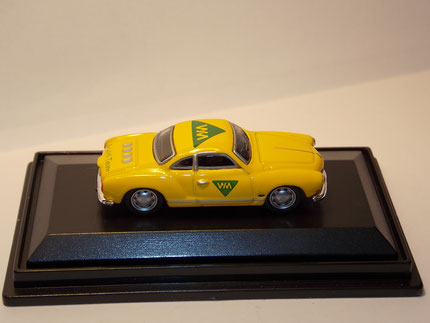 VW Karmann Ghia Coupe 1:87