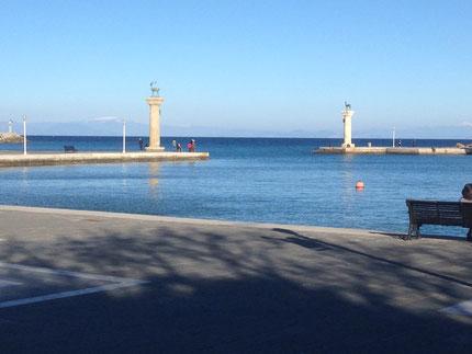 Hafenzufahrt Rhodos
