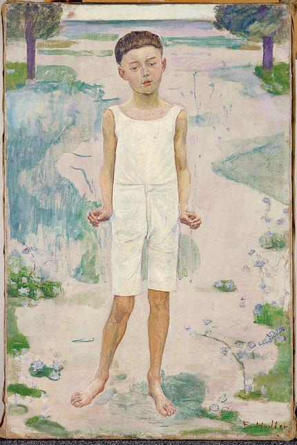 Ferdinand Hodler, Le Garçon enchante