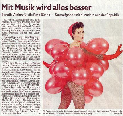 Nürnberger Nachrichten, 16.08.13