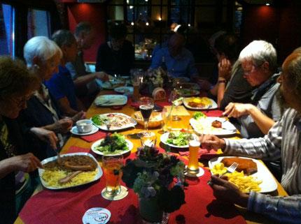 Orga-Treffen mit Einladung von Wolfi 09/2014