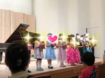 札幌市白石区ピアノ教室・松下恭子音楽教室・お教室の生徒さんが毎日こどもピアノコンクールで特別賞をいただきました。