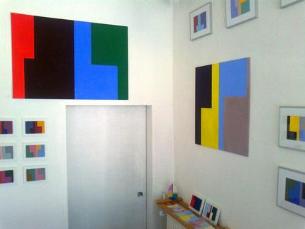 Ellen Roß: Wahlverwandtschaften, Ausstellung 2013 in der Galerie SEHR Koblenz