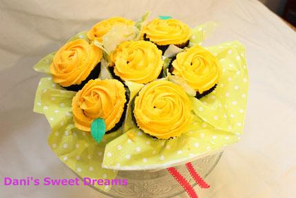 Muffin- Blumenstrauß