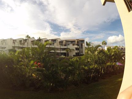 Morgenausblick auf Maui