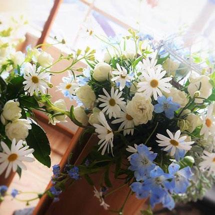 素敵なお花といつも一緒♡