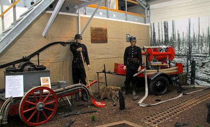 Ausstellung Waldbrände