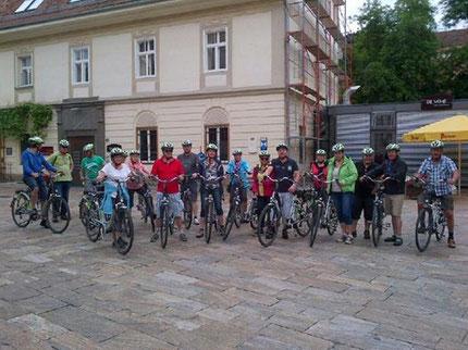 E - bike tour
