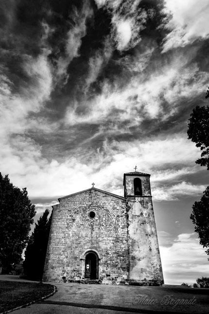 Eglise romane de Saint Denis à Tourtour (83)