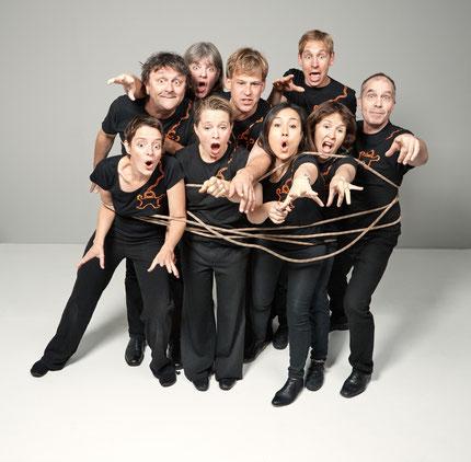 Improvisationstheater gibt es am Freitag, 16. Màrz, im Maulburger Dorfstübli. Foto: zVg
