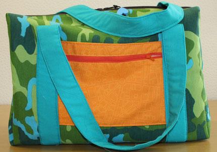 Sporttasche aus festen Baumwollstoffen