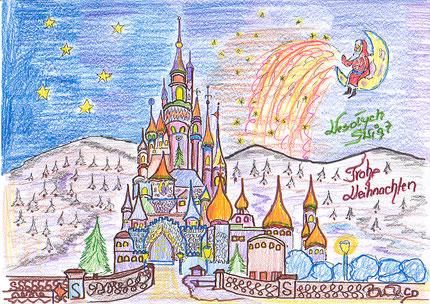 Weihnachtsbilder Gemalt.Brunos Weihnachtsbilder 2013 Selbstgemalt Brunoscd Bilder Und