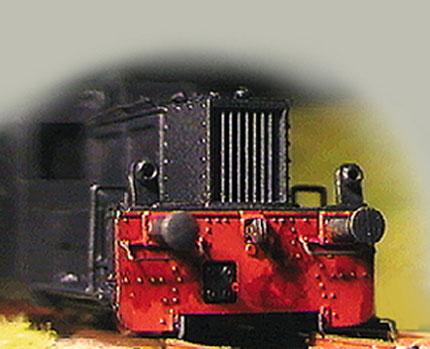 Köf II Zurüstsatz Spur N, DRG und DB, Köf 2 Spur N
