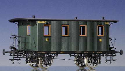 Bay. Vicinalbahnwagen 3. Klasse CL Spur H0 HO