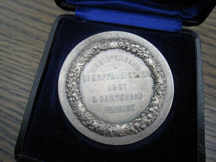 """Medaille des """"Kreisverbands Oberpfälzische Obst & Gartenbauvereine"""""""
