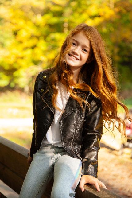 Kinderfotografie Outdoor natürliche Fotografie Mädchen Hamburg