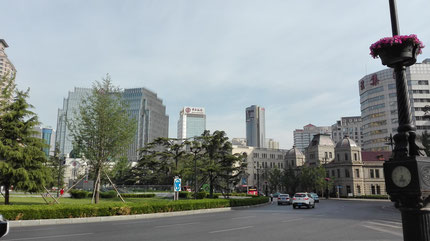 中国北京大連上海留学 ニッコーホテル大連 位置