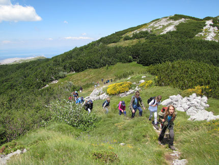 Northern Velebit National Park Moutanineering